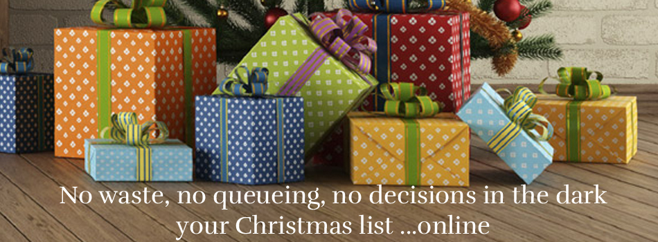 make an Online Christmas Wish List